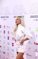 Havana Brown At 32nd Annual ARIA Awards in Sydney