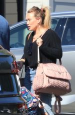 Hilary Duff Running errands in Los Angeles