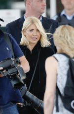 Holly Willoughby Arrives at Coolangatta airport on Australia