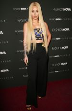 Iggy Azalea At Fashion Nova x Cardi B launch event, Los Angeles
