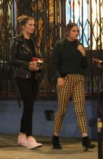Ireland Baldwin Supports Corey Harper at a sold out show in Hollywood