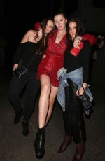 Ireland Baldwin Supports Corey Harper at his show in Hollywood