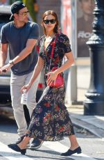 Irina Shayk and Bradley Cooper Out and about with Lea in NYC