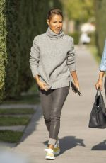 Jada Pinkett Smith Out with her mother in Calabasas