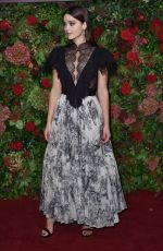 Jenna Coleman At the 64th Evening Standard Theatre Awards,London