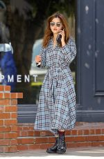 Jenna Coleman Out in Los Angeles