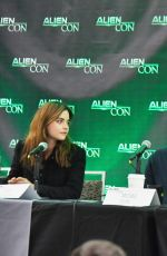 Jenna-Louise Coleman At AlienCon Baltimore 2018 Day 2