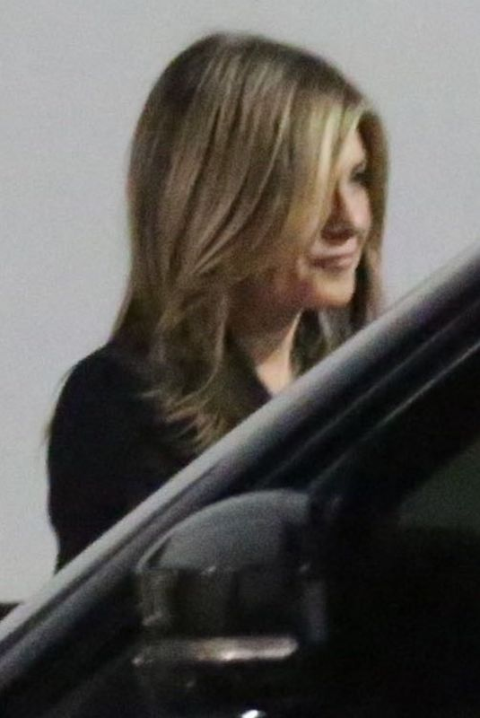 Jennifer Aniston At the Beverly Wilshire Hotel in West Hollywood