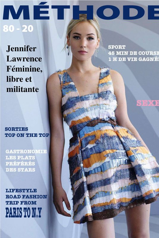 Jennifer Lawrence - Methode Magazine (France) November (2018)