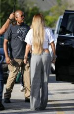 Jennifer Lopez Arrives to shoot a video with DJ Khaled in Miami