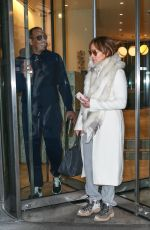 Jennifer Lopez Hits the gym in New York City