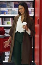 Jessica Alba Shopping for some last minute Thanksgiving essentials at Target in LA
