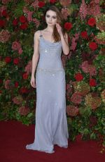 Jessica Barden At the 64th Evening Standard Theatre Awards,London