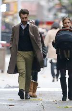 Jessica Chastain Out in New York