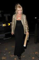 Jo Wood Arrives at Phil Turner 50th Birthday Party, London