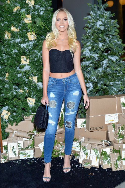 Jordyn Jones At GUESS Holiday 2018 Event in West Hollywood
