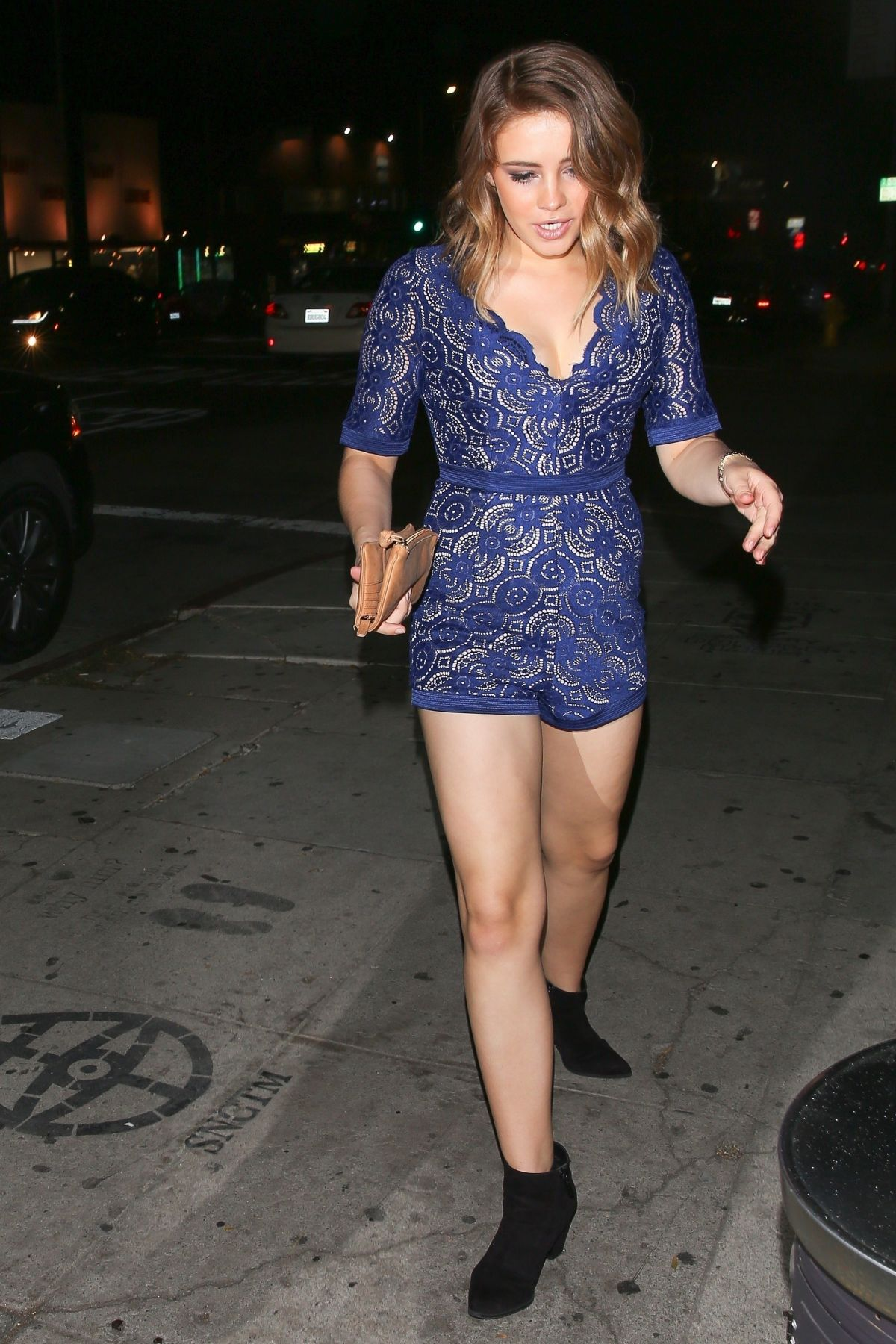 Josephine Langford At The Nice Guy in West Hollywood - Celebzz Josephine Langford