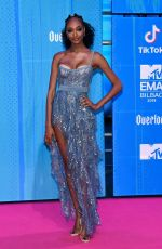 Jourdan Dunn At MTV EMAs 2018 at the Bilbao Exhibition Centre