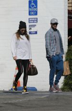 Justin Timberlake and Jessica Biel enjoy running errands out in Westwood