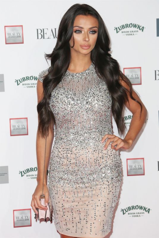 Kady Mcdermott At The Beauty Awards, London, UK