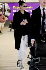 Kaia Gerber At Heathrow airport in London