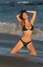 Kaili Thorne For a 138 Water Photoshootin Santa Monica
