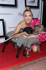 Kaley Cuoco At 8th Annual Stand Up For Pits held at the Hollywood Improv Comedy Club