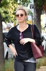 Kaley Cuoco Out and about after pilates in Los Angeles