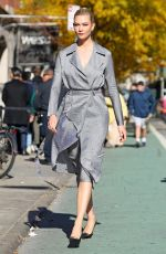 Karlie Kloss Steps out in NYC