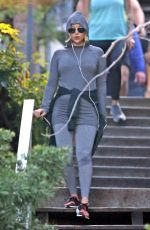 Kate Hudson Leaves workout session in Los Angeles