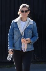 Kate Mara Leaving a dance class after her workout in Los Angeles