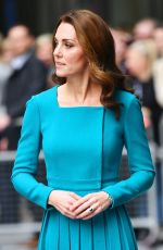Kate Middleton Leaving the BBC to highlight work to combat cyberbullying in London