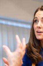 Kate Middleton Visits Quarry View in Barnsley, England