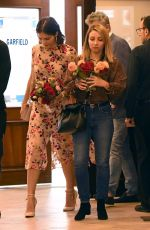 Katharine McPhee Leaving E. Baldi restaurant in Beverly Hills