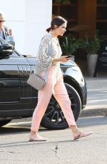 Katherine McPhee Outside Il Pastaio in Beverly Hills