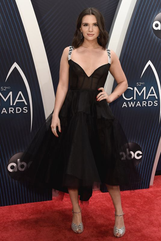Katie Stevens At 52nd Annual CMA Awards, Nashville
