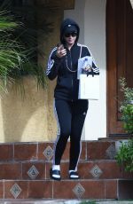 Katy Perry Leaves a friends house in Los Angeles