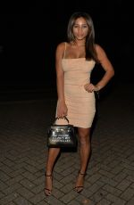 Kayleigh Morris Arriving At Chiltern Firehouse in London