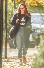 Keira Knightley Out for a stroll in North London