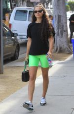 Kelly Gale Outside a gym in Hollywood