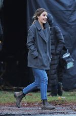 Keri Russell Gets into character for the upcoming thriller Antlers
