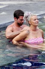 Kerry Katona In her strapless bikini on holiday in Thailand