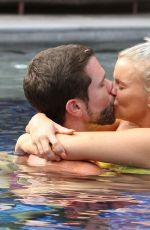 Kerry Katona With her boyfriend at their luxury Ammatara Pura Pool Villas resort in Thailand