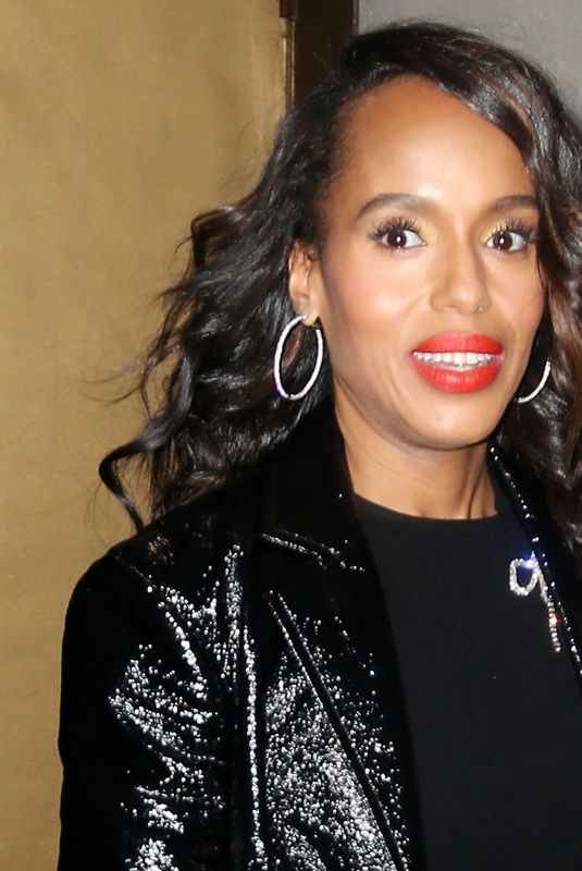 """Kerry Washington Visits """"Today Show"""" in New York"""