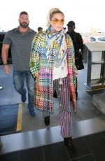 Kesha Depart from LAX