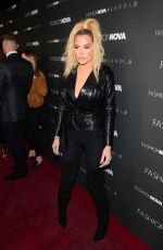 Khloe Kardashian At Fashion Nova x Cardi B event at Boulevard 3 in Hollywood