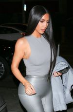 Kim Kardashian Arriving at the Street Dreams event in West Hollywood
