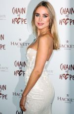 Kimberley Garner Attends the Chain of Hope Annual Gala Ball 2018 at Old Billingsgate in London