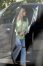 Kourtney Kardashian Stops by the Bel Air Hotel in Beverly Hills