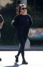 Kourtney Kardashian With friends out in West Hollywood
